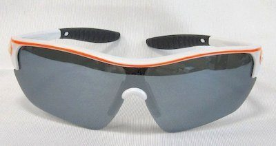 "sport sunglass, ""Shining-White"" color frame,TAC lenses with ""white"" color ""Silver"" coating."