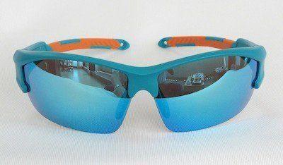 Blue REVO sunglasses Orange Tips