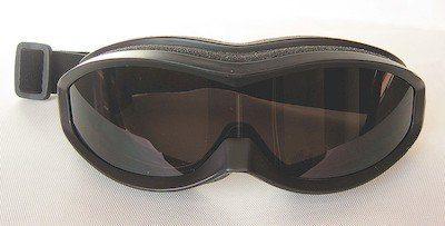 Riding goggles, UV400 eccentric lenses, PU Foam, Nylon strap