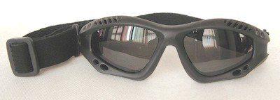 Riding goggles, UV400 eccentric lenses, SBF Foam, Nylon strap