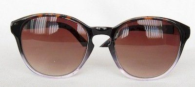 "round sunglass,UV400 PC lenses, Frame and Temple with ""Tortoise-shell "" color"