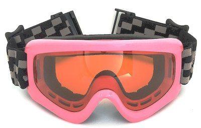Ski goggles, TPU frame, UV400 lenses, Jacquard strap