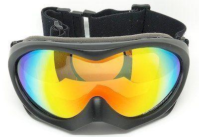 goggles, Black TPU frame, REVO lens, Double PU Foam
