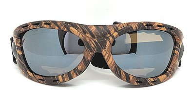 Ridding Goggles, Water transfer frame Grey Anti-fog lens
