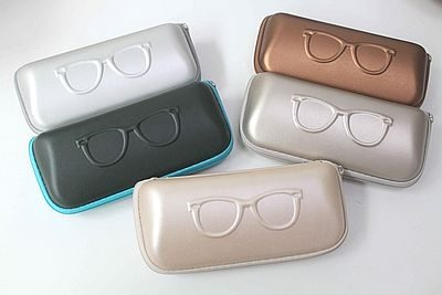 eyeglass case, sunglasses case, leather glasses case