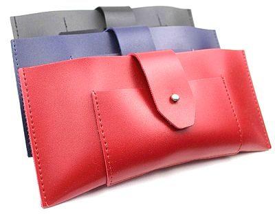 PU leather sunglass case