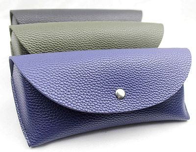 leather glasses case, eyeglass case, PU sunglasses case