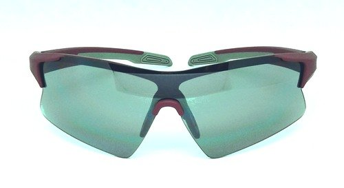 one piece Elastic paint sport sunglasses