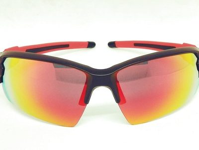 Black Red REVO Sport sunglasses