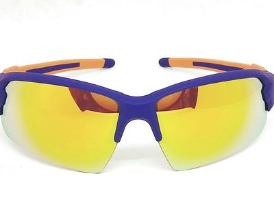 Purple Blue Elastic paint sunglasses