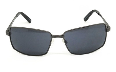 Metal Gun color Square Sunglasses