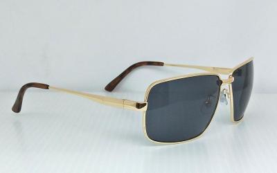 CG-3447-2Shining Metal Square sunglasses CG-3447UV 400 PC eccentric Grey color lenses