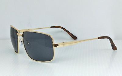 CG-3447-4PC eccentric  Square sunglasses CG-3447Shining Metal Golden color frame