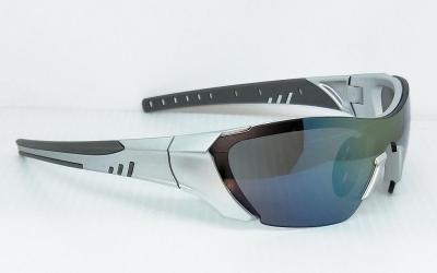 CG-PS-743-2Matte aluminum color one piece lenses fashion Sunglasses