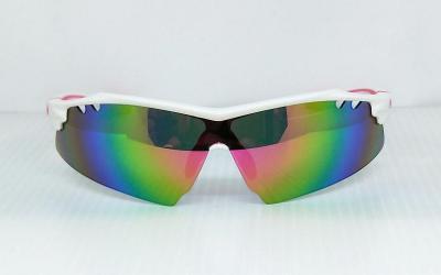 CG-PS-794A-1-1REVO one piece lens Sport SunglassesWhite color frame
