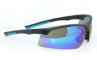 matte black frame water blue lenses CG-PS-838-1