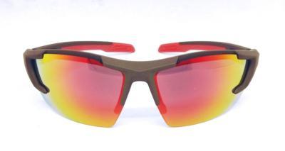 sport sunglasses, UV400 Black Red color REVO lens, CG-W659-1