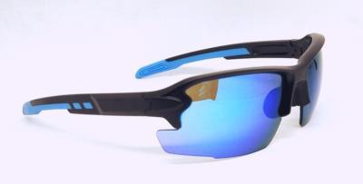 Sky Blue color REVO eccentric lens sport sunglasses, CG-W660-1-2