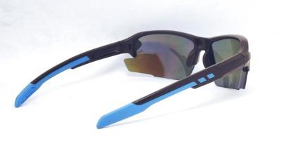 UV400 Sky Blue color REVO eccentric lens sport sunglasses, CG-W660-1-3