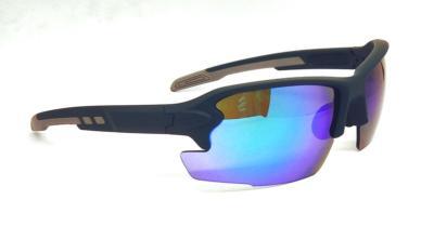 Green REVO eccentric lens sport sunglasses, CG-W660-2-2