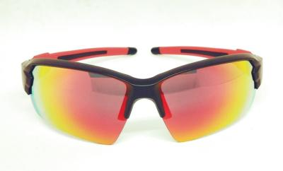 Black Red color REVO lens Sport sunglasses CG-W661-1-1