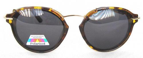 Tortoise shell paint round sunglasses CG58-1-1
