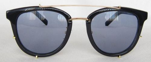 Shining Black round sunglasses CG60-1