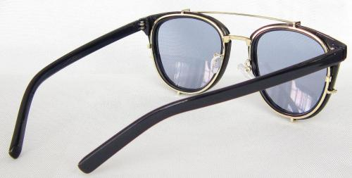 Golden color Metal Temple round sunglasses CG60-3