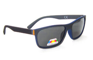 Matte Black TAC Polarized lenses  square sunglasses CG83-1-2