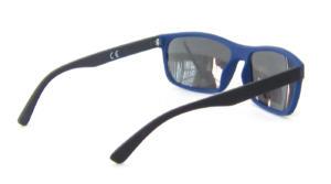 Matte Black Metal Temple TAC Polarized lenses square sunglasses CG83-1-3