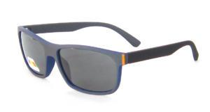 square sunglasses, Matte Black frame, TAC Polarized lenses CG83-1-4